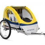 eco double bike trailers
